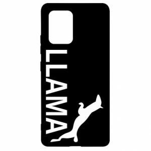 Etui na Samsung S10 Lite Lama is jumping