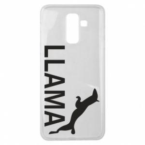 Etui na Samsung J8 2018 Lama is jumping