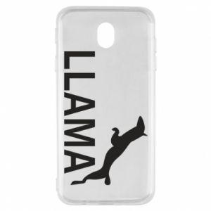 Etui na Samsung J7 2017 Lama is jumping