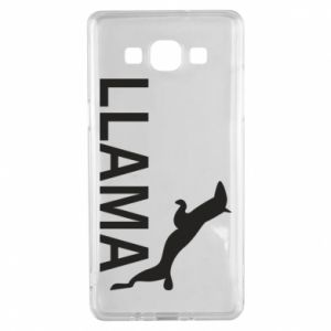 Etui na Samsung A5 2015 Lama is jumping