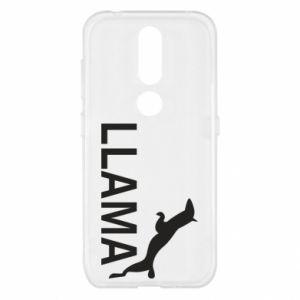 Etui na Nokia 4.2 Lama is jumping