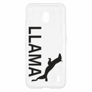 Etui na Nokia 2.2 Lama is jumping
