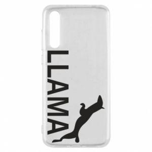 Etui na Huawei P20 Pro Lama is jumping