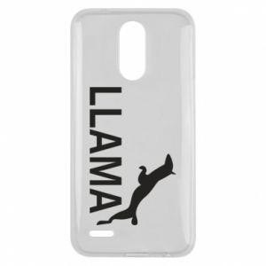 Etui na Lg K10 2017 Lama is jumping