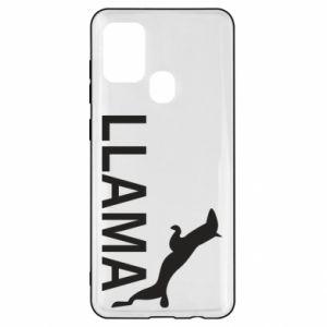 Etui na Samsung A21s Lama is jumping
