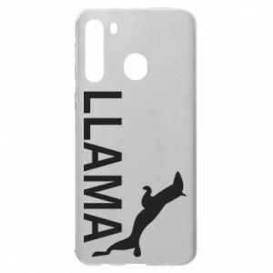 Etui na Samsung A21 Lama is jumping