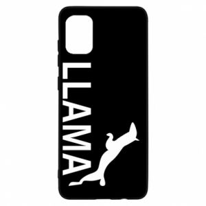 Etui na Samsung A31 Lama is jumping