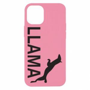 Etui na iPhone 12 Mini Lama is jumping