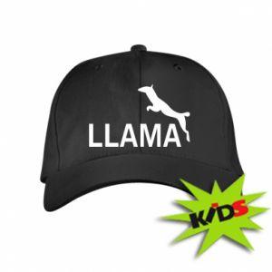 Czapeczka z daszkiem dziecięca Lama is jumping