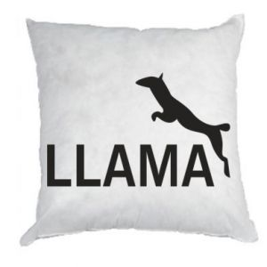 Poduszka Lama is jumping
