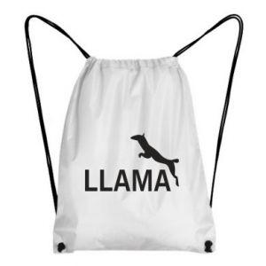 Plecak-worek Lama is jumping