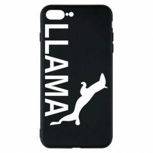 Etui na iPhone 8 Plus Lama is jumping