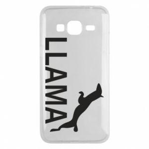 Etui na Samsung J3 2016 Lama is jumping
