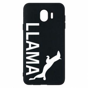 Etui na Samsung J4 Lama is jumping