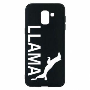 Etui na Samsung J6 Lama is jumping