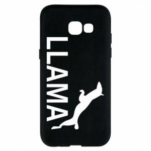 Etui na Samsung A5 2017 Lama is jumping