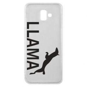 Etui na Samsung J6 Plus 2018 Lama is jumping