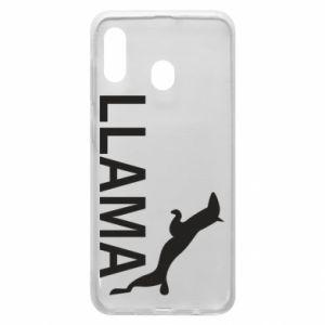 Etui na Samsung A30 Lama is jumping