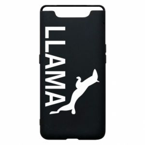 Phone case for Samsung A80 Lama is jumping