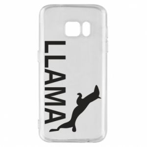 Etui na Samsung S7 Lama is jumping
