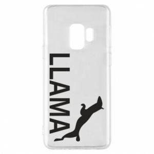 Etui na Samsung S9 Lama is jumping