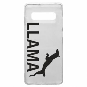 Etui na Samsung S10+ Lama is jumping