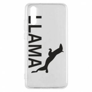 Etui na Huawei P20 Lama is jumping