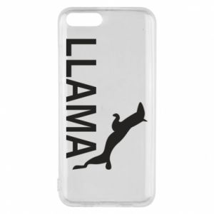 Phone case for Xiaomi Mi6 Lama is jumping
