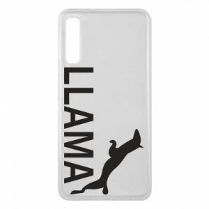 Etui na Samsung A7 2018 Lama is jumping