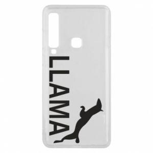 Etui na Samsung A9 2018 Lama is jumping