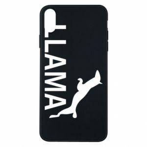 Etui na iPhone Xs Max Lama is jumping