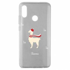 Etui na Huawei Honor 10 Lite Lama w kapeluszu