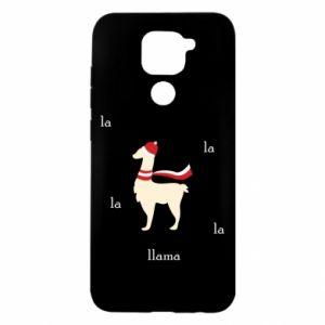 Etui na Xiaomi Redmi Note 9/Redmi 10X Lama w kapeluszu