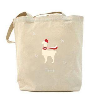 Bag Llama in a hat
