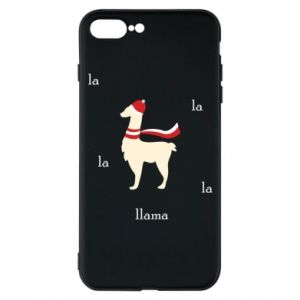Phone case for iPhone 7 Plus Llama in a hat