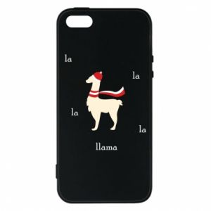 Phone case for iPhone 5/5S/SE Llama in a hat
