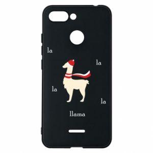 Phone case for Xiaomi Redmi 6 Llama in a hat