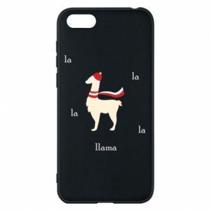 Phone case for Huawei Y5 2018 Llama in a hat