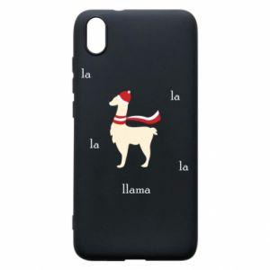 Phone case for Xiaomi Redmi 7A Llama in a hat