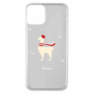 Phone case for iPhone 11 Llama in a hat