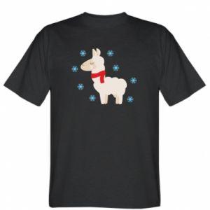 Koszulka Lama w śniegu