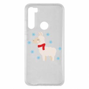 Etui na Xiaomi Redmi Note 8 Lama w śniegu