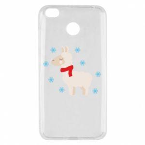 Etui na Xiaomi Redmi 4X Lama w śniegu
