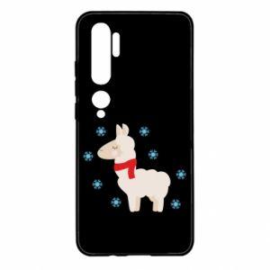 Etui na Xiaomi Mi Note 10 Lama w śniegu