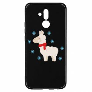 Etui na Huawei Mate 20 Lite Lama w śniegu