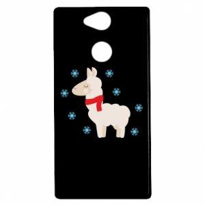 Etui na Sony Xperia XA2 Lama w śniegu