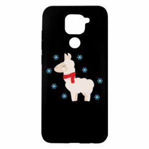 Etui na Xiaomi Redmi Note 9/Redmi 10X Lama w śniegu