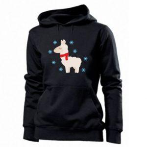 Bluza damska Lama w śniegu