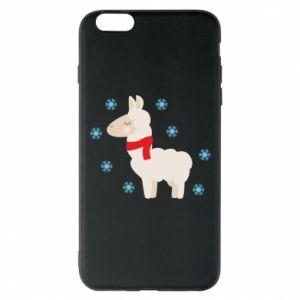 Etui na iPhone 6 Plus/6S Plus Lama w śniegu
