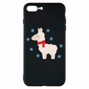 Etui do iPhone 7 Plus Lama w śniegu